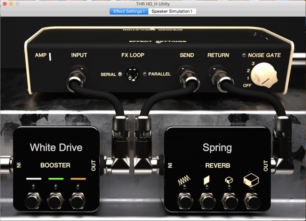"""W aplikacji można wybrać rodzaj boostera (przesteru """"w kostce"""") i typ pogłosu."""