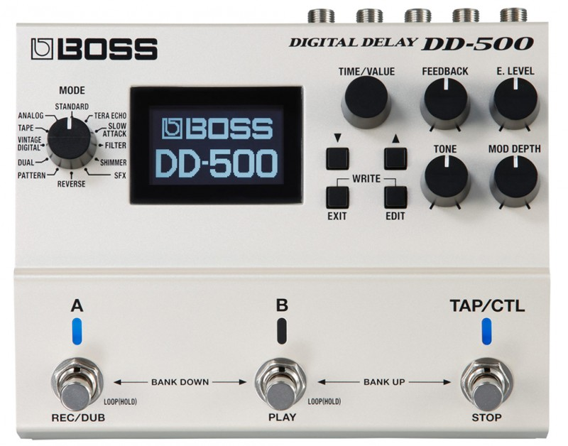 Fabryka opóźnień: Boss DD-500