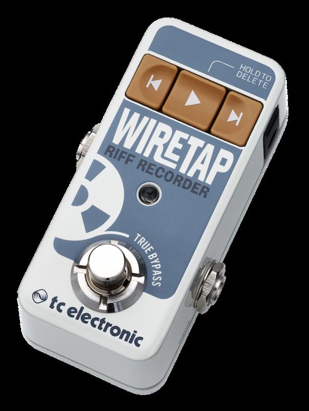 Muzyczny dyktafon: WireTap Riff Recorder