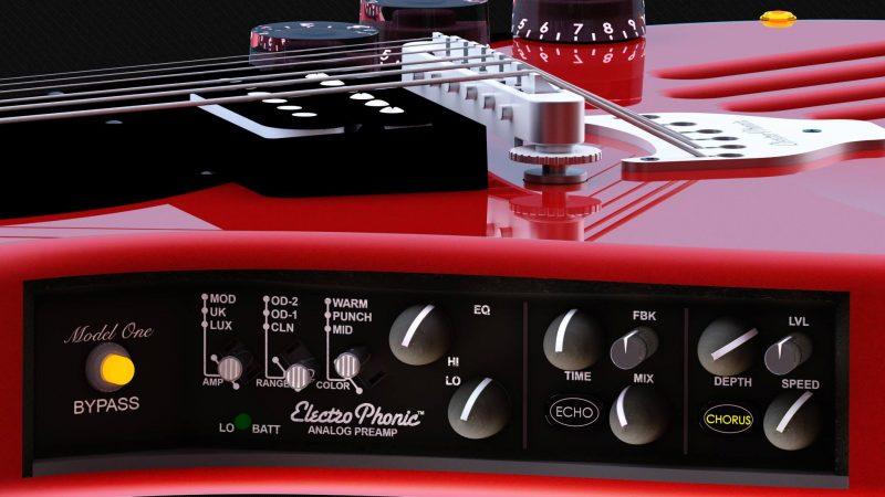 ElectroPhonic Model One EP: gra z deski