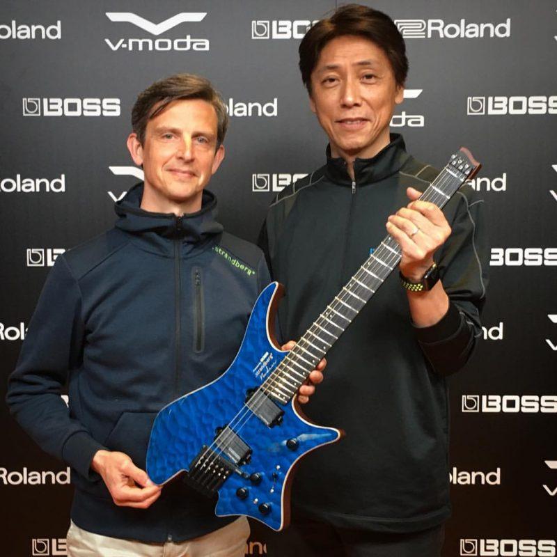 Kosmiczna gitara: Boss łączy siły ze Strandbergiem