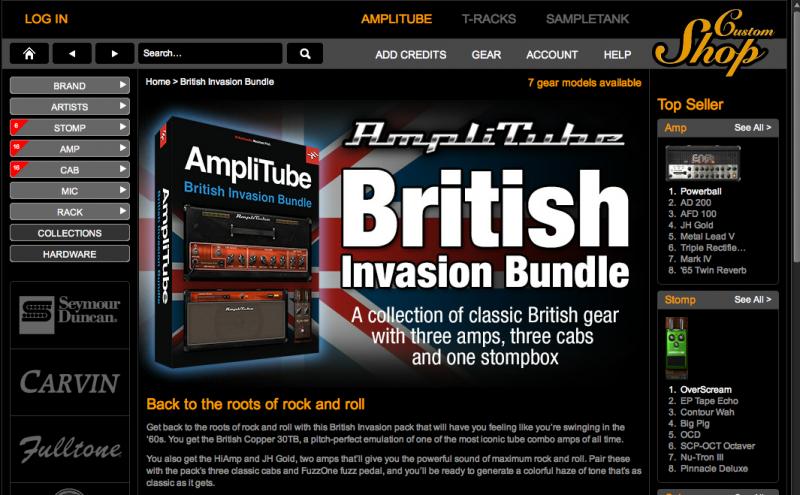 British Invasion: Darmowe wzmacniacze do AmpliTube