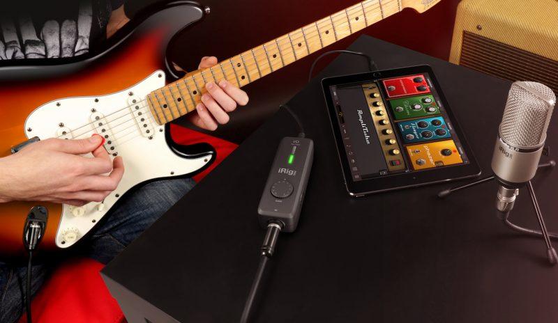 iRig Pro I/O: Kieszonkowe studio nagrań