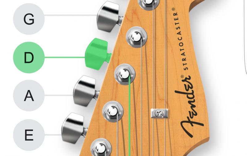 Fender Tune: Mobilny stroik