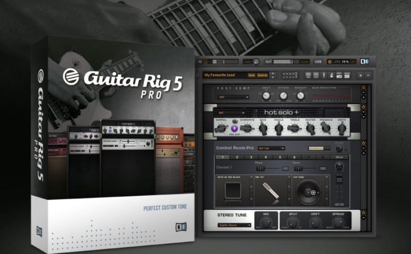 Guitar Rig 5 i jego sekretna broń: Impulsy