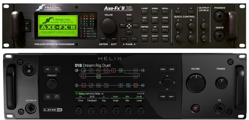 Przestery w Axe FX II i Helixie