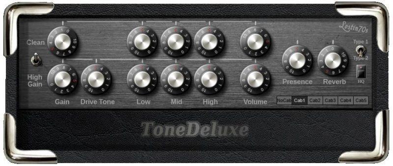 Tone Deluxe: darmowy ampsim, który warto sprawdzić