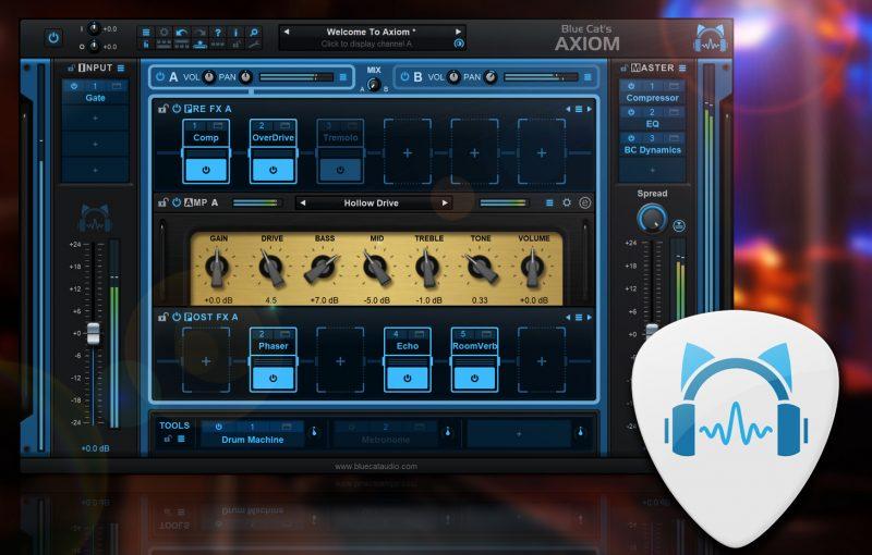 Blue Cat Axiom: kolejny (tym razem ciekawy) nowy ampsim na rynku